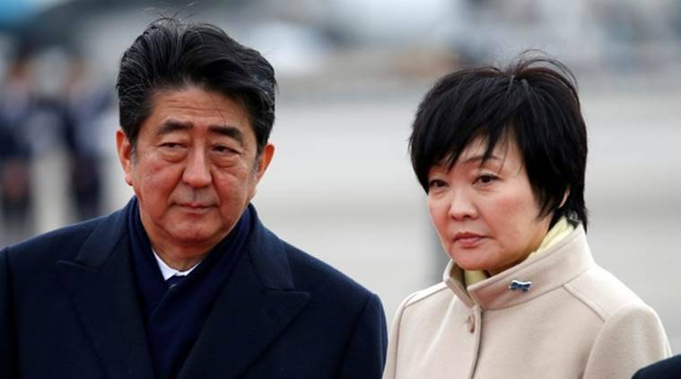 Shinzo Abe takes blame for loss of trust over scandal