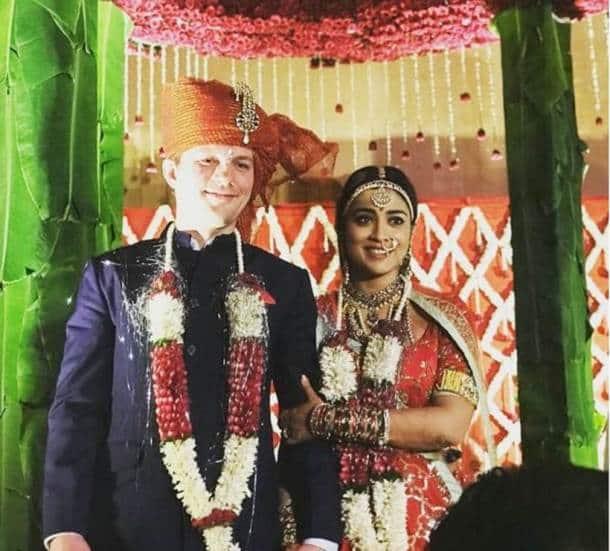 shriya saran husband photos