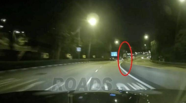ghost, ghost videos, spooky videos, scary videos, singapore ghost video, ghost highway videos, viral videos, trending news, viral news, indian express