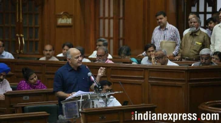 Delhi Budget 2018-2019 live updates by manish sisodia