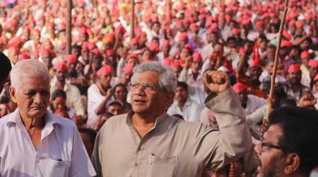 Maharashtra farmers' protest: Sitaram Yechury warns of mass movement if demands not met in six months