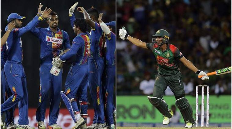 Image result for sri lanka fight bangladesh players nidahas