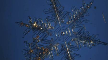 Snowflake crystal holds clues to climate change, watersheds:Study