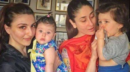 Soha Ali Khan on Inaaya and Taimur's comparison: You just have to laugh at it as much as you can
