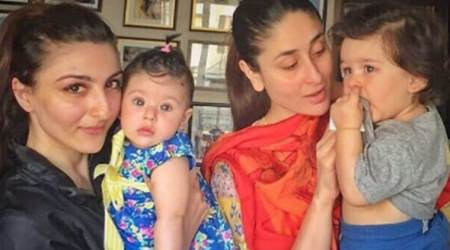 Praise for daughter Inaaya Naumi Kemmu's photos leaves Soha Ali Khan worried
