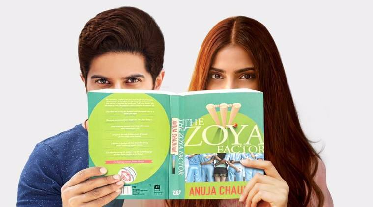 sonam kapoor and dulquer salmaan in the zoya factor