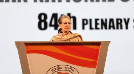 Congress Plenary Session: Sonia slams Modi arrogance, rallies party behind Rahul