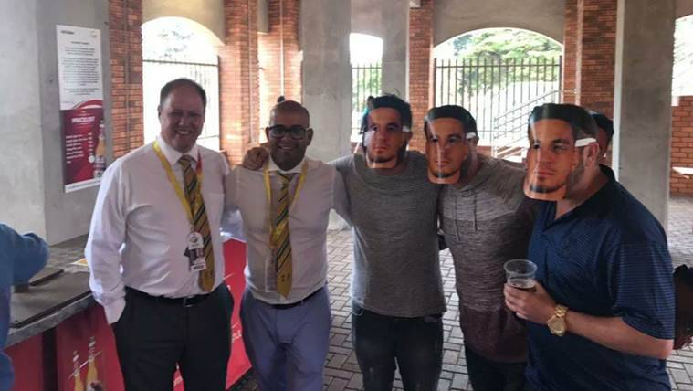 Cricket South Africa apologies for Sonny Bill Williams masks