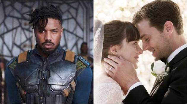 Black Panther and Fifty Shades Freed