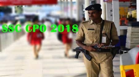 SSC CPO recruitment 2018, ssc.nic.in, ssc online