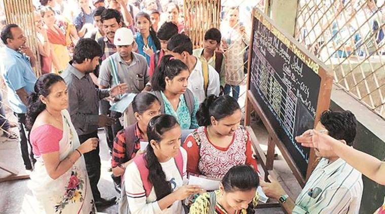 The Amboli police have found that several rules regarding conducting of examination have been flouted at the school. (Express photo)