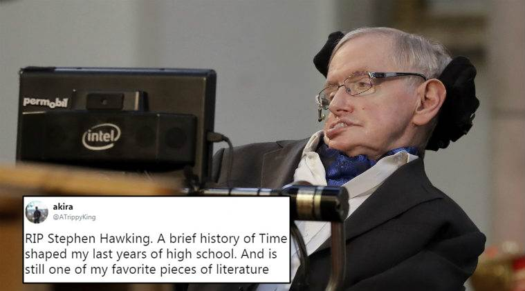 Stephen Hawking Passes Away Twitterati Mourn The