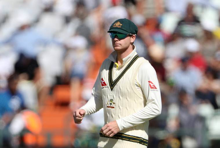 Steve Smith during the third Test against South Africa
