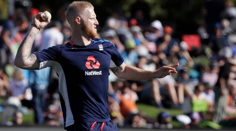 Ben Stokes during England v New Zealand cricket match