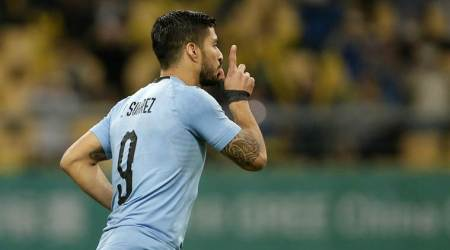 Luis Suarez hits 50th goal as Uruguay see off Czech Republic