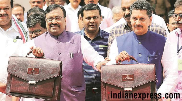maharashtra, tax arrears, state govt debt, maharashtra budge 2018 19, indian express
