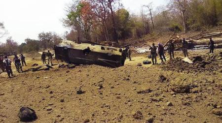 In Chhattisgarh, 9 CRPF personnel killed as Maoists blow up vehicle in Sukma