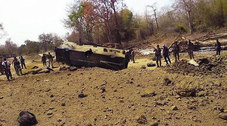 In Chhattisgarh maoist attack, nine CRPF jawans killed