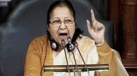 1 minute, 2 minutes, 3 minutes… And Lok Sabha Speaker Sumitra Mahajan says House standsadjourned