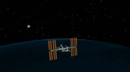 NASA powers on new Sun tracking instrument aboardISS