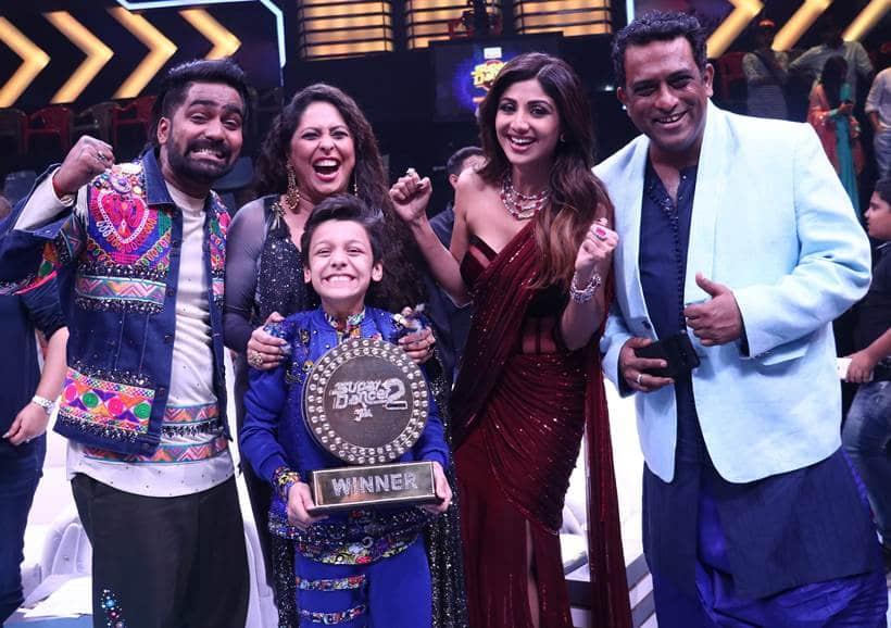 super dancer finale photos winner bishal sharma shilpa shetty