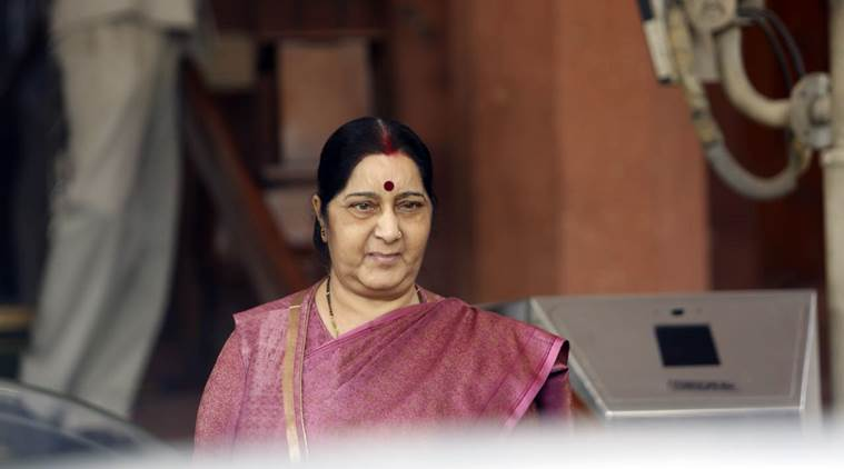 India stands by tsunami-hit Indonesia, says Sushma Swaraj
