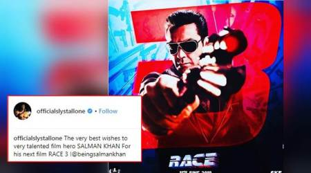 Race 3: Sylvester Stallone sends 'best wishes' to Salman Khan with Bobby Deol's photo; angers Twitterati