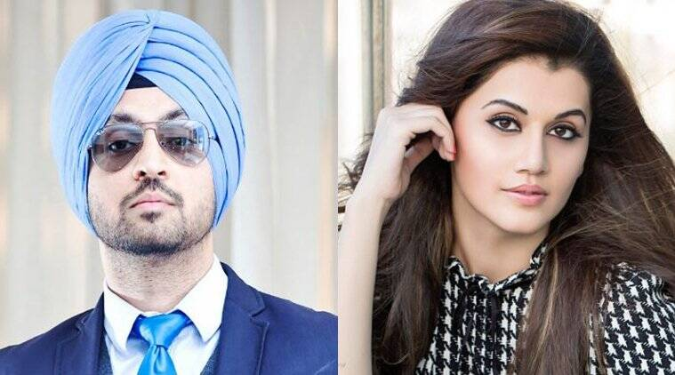 diljit dosanjh and taapsee pannu