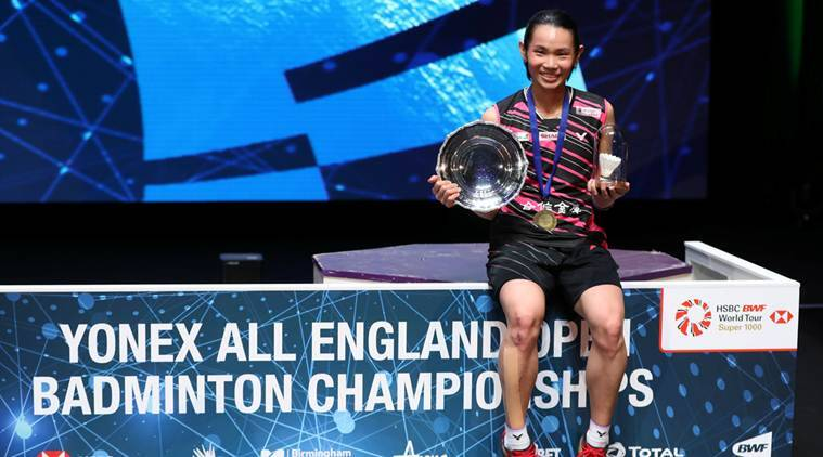 Tai Tzu Ying, Tai Tzu Ying vs Akane Yamaguchi, All England championships, All England championships results, sports news, badminton, Indian Express