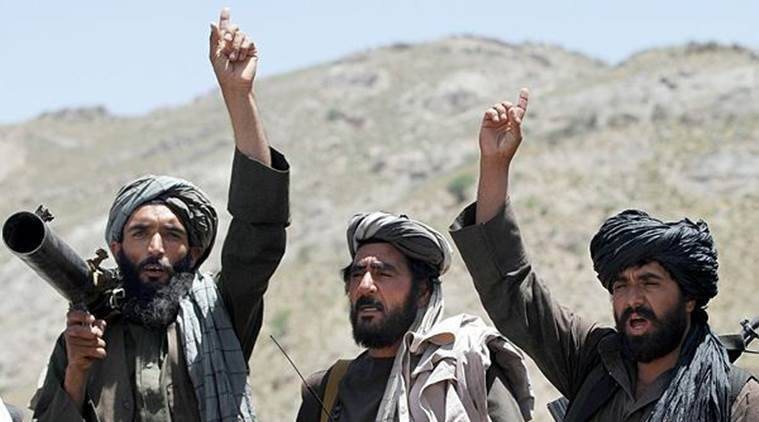 Taliban fighters clash with security forces in key city