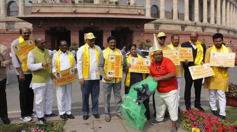 TDP pulls out from NDA, moves no-confidence motion in Lok Sabha