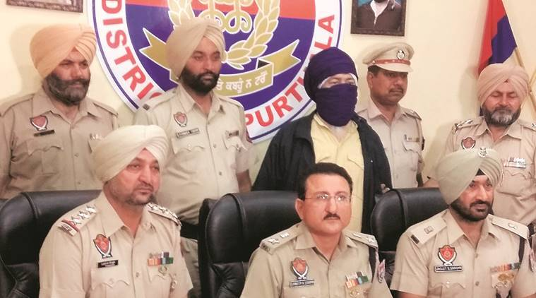 wanted terrorist held in Kapurthala