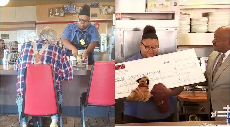 Woman's act of kindness at Texas Waffle House goes viral, earns praise