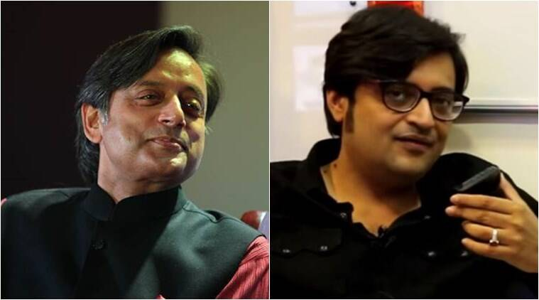 Shashi Tharoor and Arnab Goswami ready to depose in defamation suit in HC