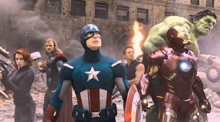 Marvel film The Avengers photos
