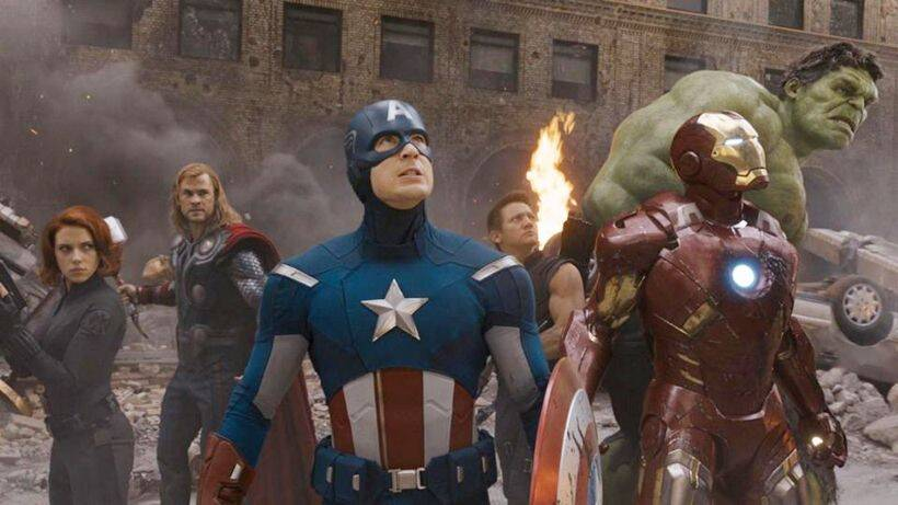 the avengers box office