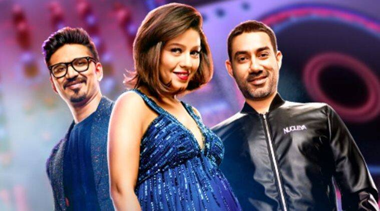 the remix judges sunidhi chauhan, amit trivedi