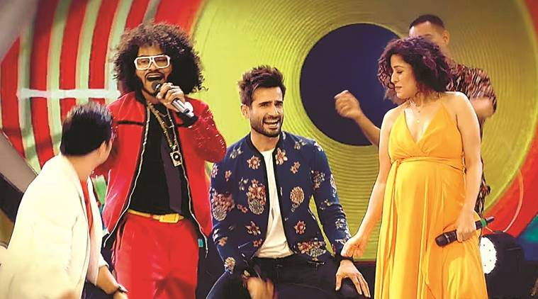 sunidhi chauhan, the remix show, bollywood playback singer, female singers, sunidhi chauhan interview, indian express