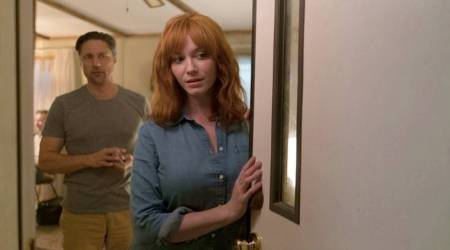 Christina Hendricks wanted to do all the trauma scenes in horror film The Strangers Prey At Night