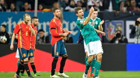 Germany draw 1-1 with Spain as Diego Costa makes comeback