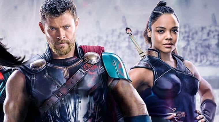 Thor Ragnarok actors Tessa Thompson and Chris Hemsworth photos