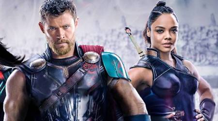 Thor Ragnarok co-stars Chris Hemsworth and Tessa Thompson to reunite for Men in Black spinoff