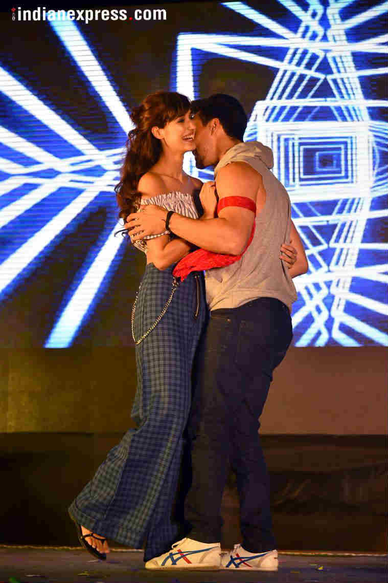 Tiger Shroff and Disha Patani promotes Baaghi 2