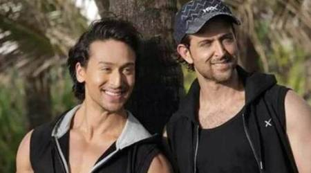 tiger shroff and hrithik roshan in sidharth anand film