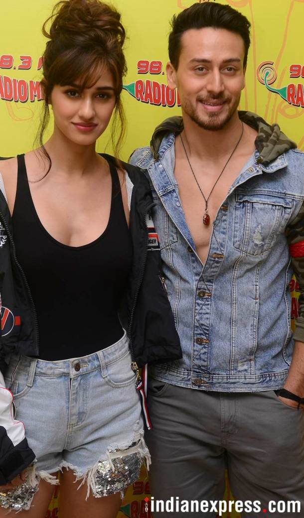 Tiger Shroff and Disha Patani promoting Baaghi 2