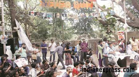 TISS: Protests enter 13th day, students from other colleges join in