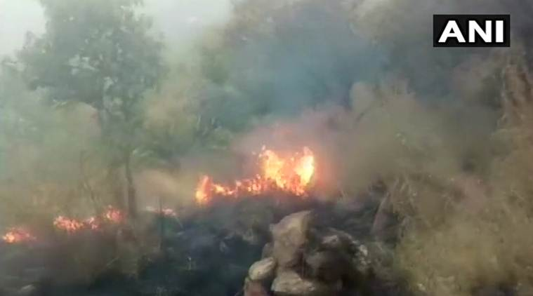 Tamil Nadu 20 students caught in forest fire Indian Air Force pressed into rescue operations