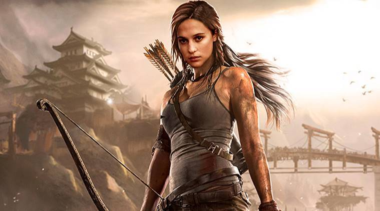 Tom Raider stars Alicia Vikander