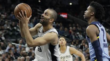 NBA roundup: Tony Parker, Spurs send Grizzlies to 14th straight loss
