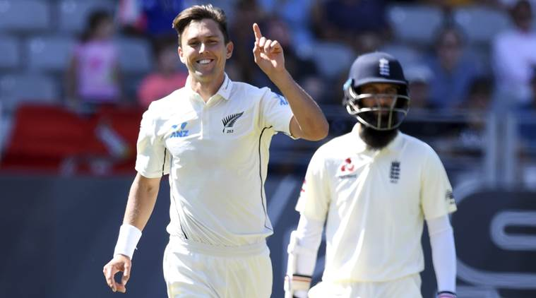 New Zealand are playing the first Test against England.